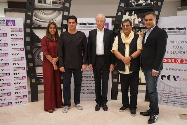 L-R_Meghna Puri, Omung Kumar, Patrick Hermande, Subhash Ghai, Neeraj Roy