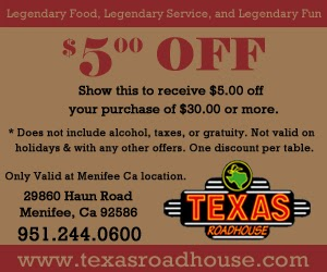 picture regarding Texas Roadhouse Printable Coupons called Texas roadhouse coupon codes printable august 2018 - American