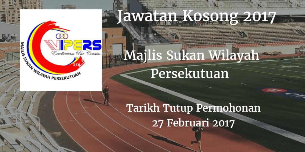 Jawatan Kosong WIPERS 27 Februari 2017