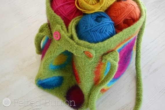 Colorful Crochet Patterns by Felted Button