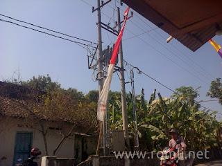 Gardu listrik desa pagerwojo