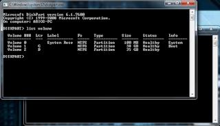 Tutorial Mengetahui Kapasitas Hard Disk Melalui Command Prompt Dengan Mudah Dan Cepat