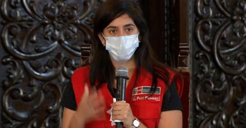 MARÍA ANTONIETA ALVA: No he presentado mi renuncia y sigo trabajando con intensidad, informó la Ministra de Economía