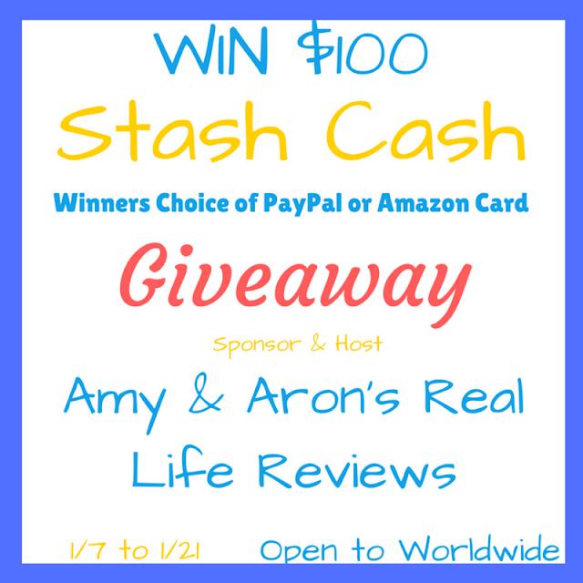 $100 Stash Cash Giveaway ~ Ends 1/21 @aarlreviews @bluedoorreviews