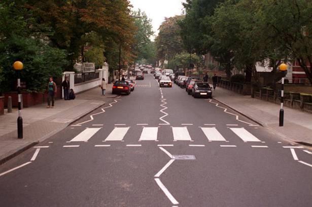 The Daily Beatle Has Moved The Relocation Of The Abbey Road Zebra Crossing