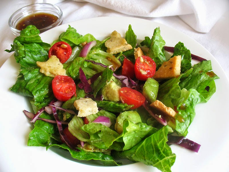 Dressed Up Mixed Vegetable And Avocado Salad