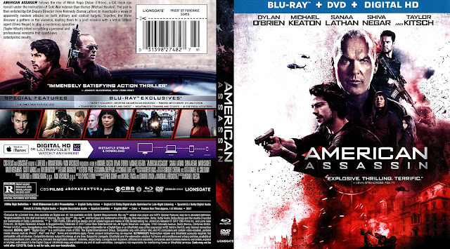 American Assassin Bluray/DVD Cover