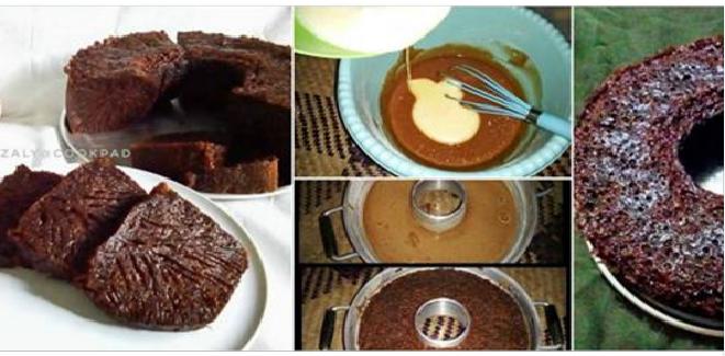 Resep Membuat Kue Sarang Semut Cake Karamel Versi 2 By