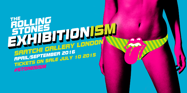 exhibitionism rolling stones saatchi gallery london