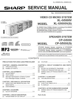 Sharp XLG5000V 5000V(S) Diagrama