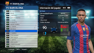 PES 2017 VirtuaRED.com Patch 2017 Season 2016/2017
