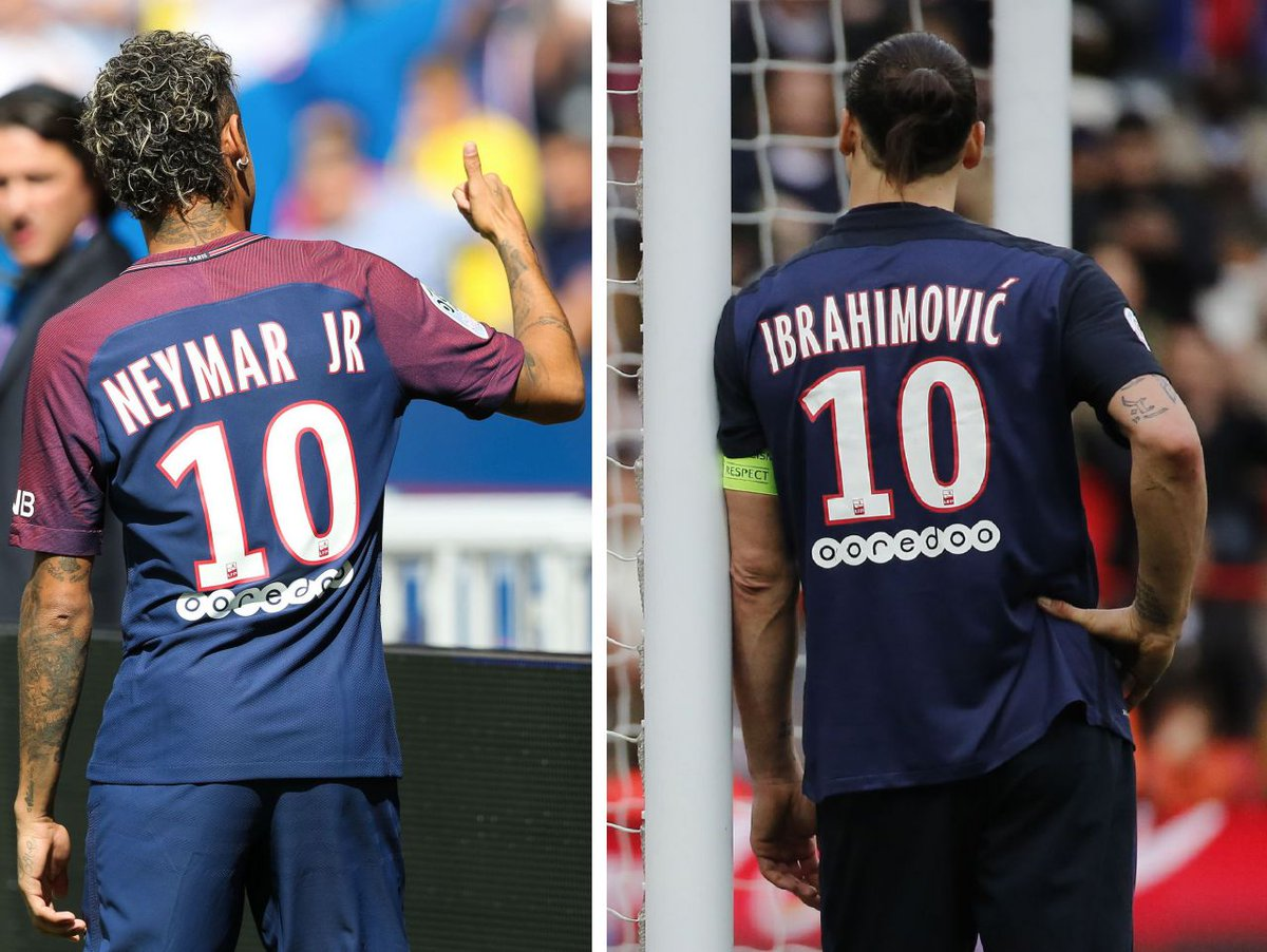 Image result for ibrahimovic psg neymar