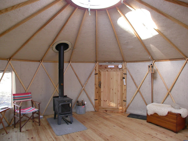 Tiny house town a 133 sq ft diy yurt best of all they ship to wherever you are solutioingenieria Images
