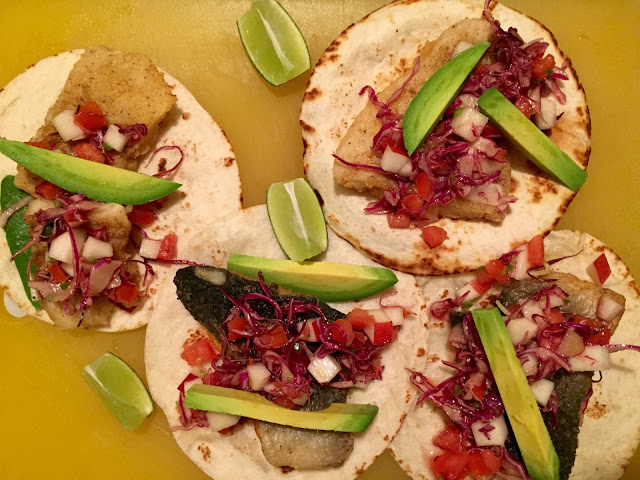 Eating Fabulously, Christopher Stewart, fish tacos, tacos, fish taco recipe