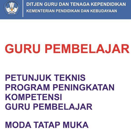 gambar download Juknis/Panduan Guru Pembelajar Moda Tatap Muka PDF