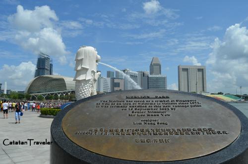 Merlion Park, Singapura, Traveling, Catatan Traveler