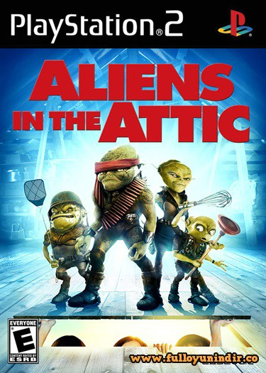 Aliens in the Attic (PAL) Playstation 2 Tek Link