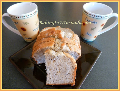 Almond Poppy Bread | www.BakingInATornado.com | #recipe