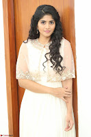 Megha Akash in beautiful Cream Transparent Anarkali Dress at Pre release function of Movie LIE ~ Celebrities Galleries 067.JPG