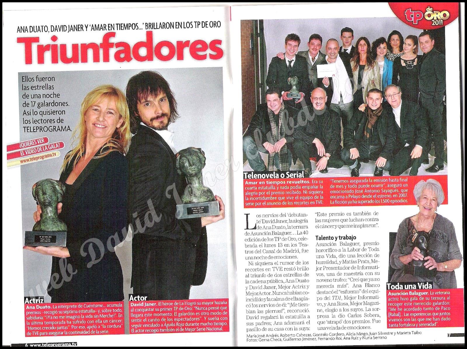 Ana Duato Piernas club de fans david janer: 2012-02-12