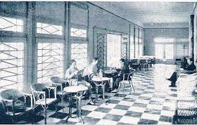 Hall del Hotel Mar y Sol en 1935