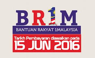 BR1M | TARIKH PEMBAYARAN DIAWALKAN PADA 15 JUN 2016,cara memohon br1m 2016,tarikh bayaran br1m 2016