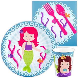 Mermaid Under Sea Snack Party Pack