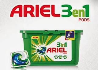 Prueba Ariel 3en1 Pods