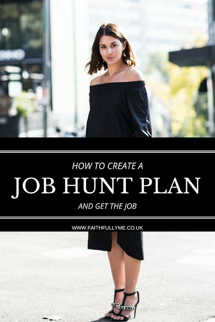 CAREER GUIDE: HOW TO CREATE A JOB HUNT PLAN IN 4 EASY STEPS