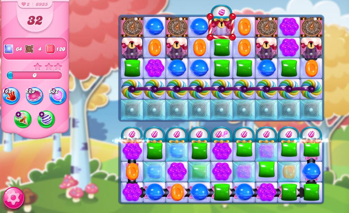 Candy Crush Saga level 6935