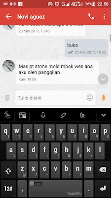 pt stone mold