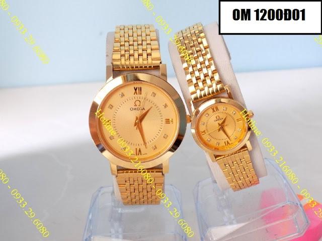 Đồng hồ cặp đôi Omega 1200Đ01