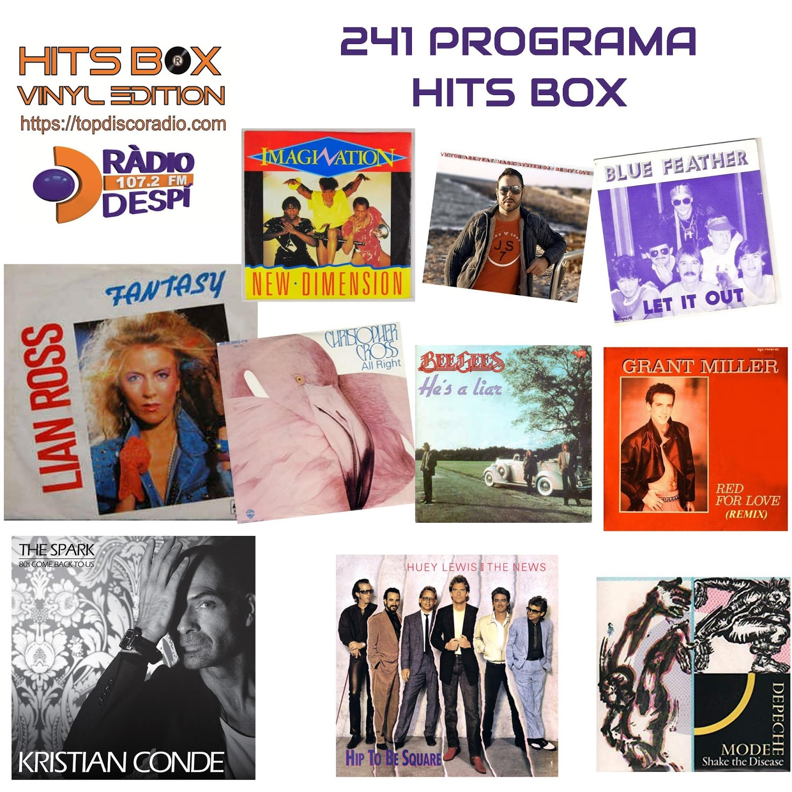 241 Programa Hits Box Vinyl Edition