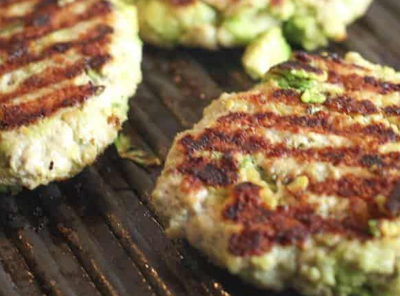 CHICKEN AVOCADO BURGERS #recipe #vegan