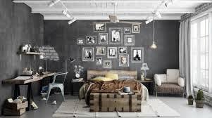 Decoración habitación estilo industrial