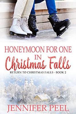 Heidi Reads... Honeymoon for One in Christmas Falls by Jennifer Peel