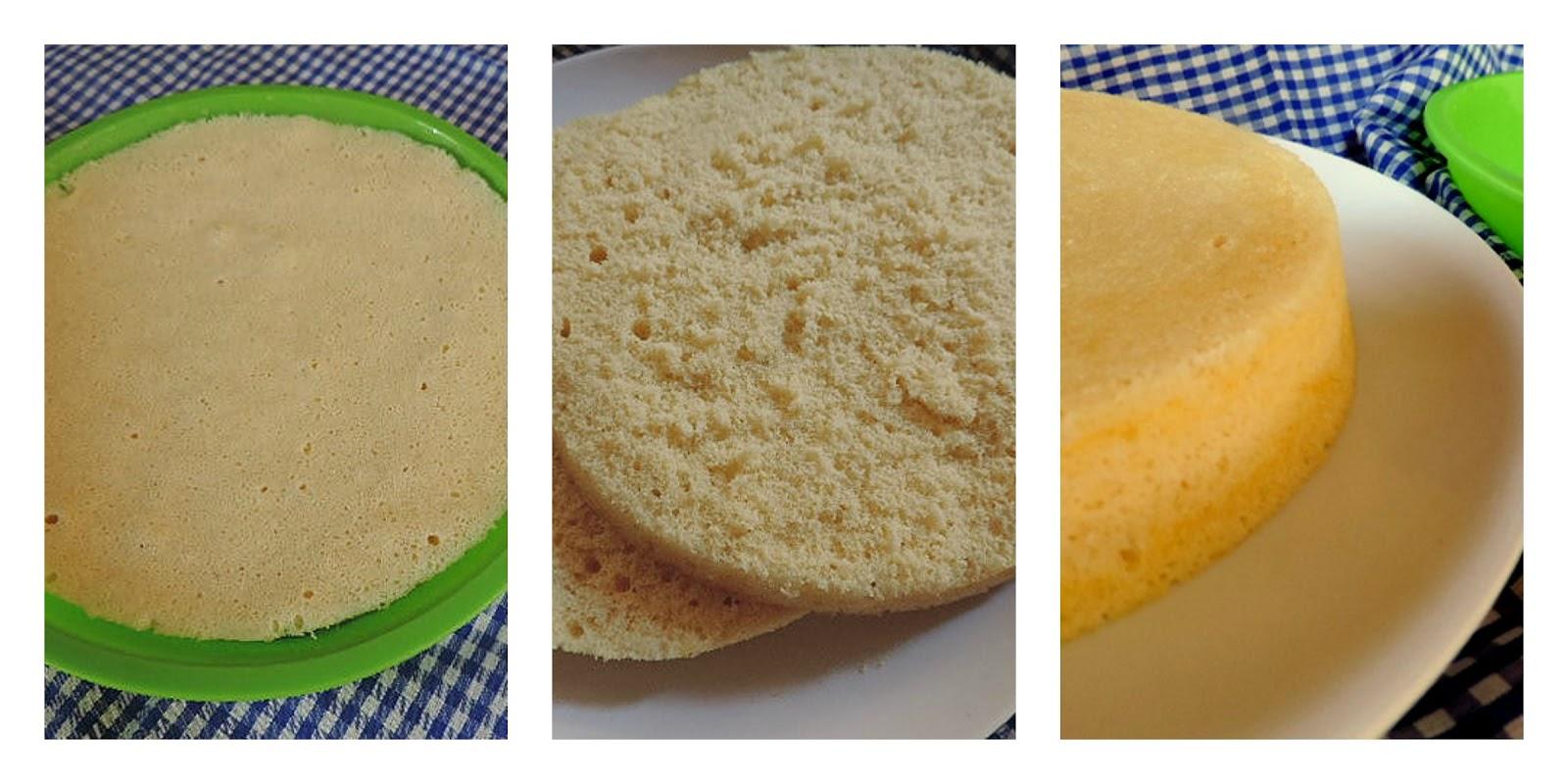 Marronglac bizcocho genov s al microondas - Bizcocho microondas 3 minutos ...