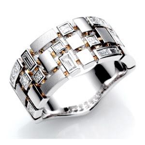 Latest Platinum Rings for Men 2015