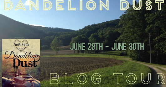 RELEASE DAY!! Blog tour--Dandelion Dust