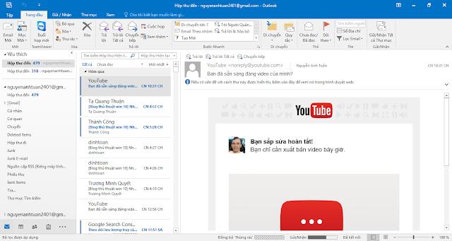 Khôi phục các mục đã xóa trong Outlook cho Windows