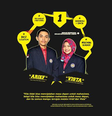 Arief Vista Tawarkan Pembaharuan Kinerja Hima Mendatang
