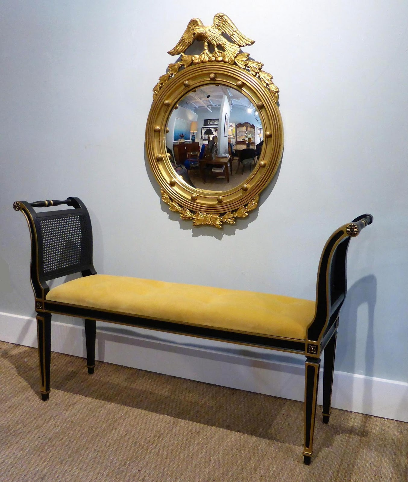 MICHAEL THOMAS : Neoclassical Style Bench