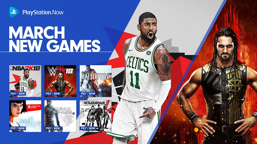 playstation now battlefield 4 nba 2k18 wwe 2k18 ps4 lineup