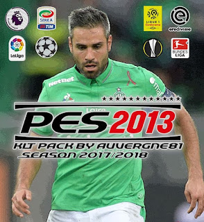 PES 2013 Kitpack Season 2017/2018 by Auvergne81