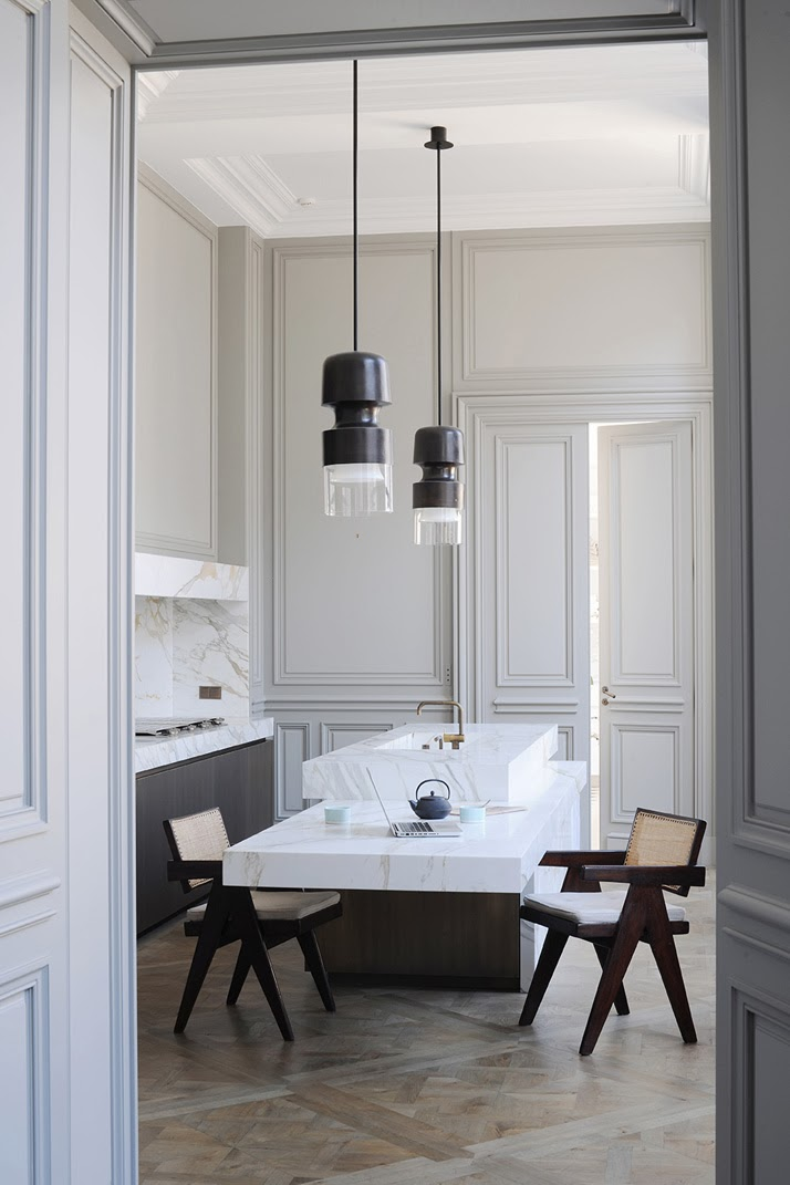 A Paris apartment designed by Joseph Dirand kitchen