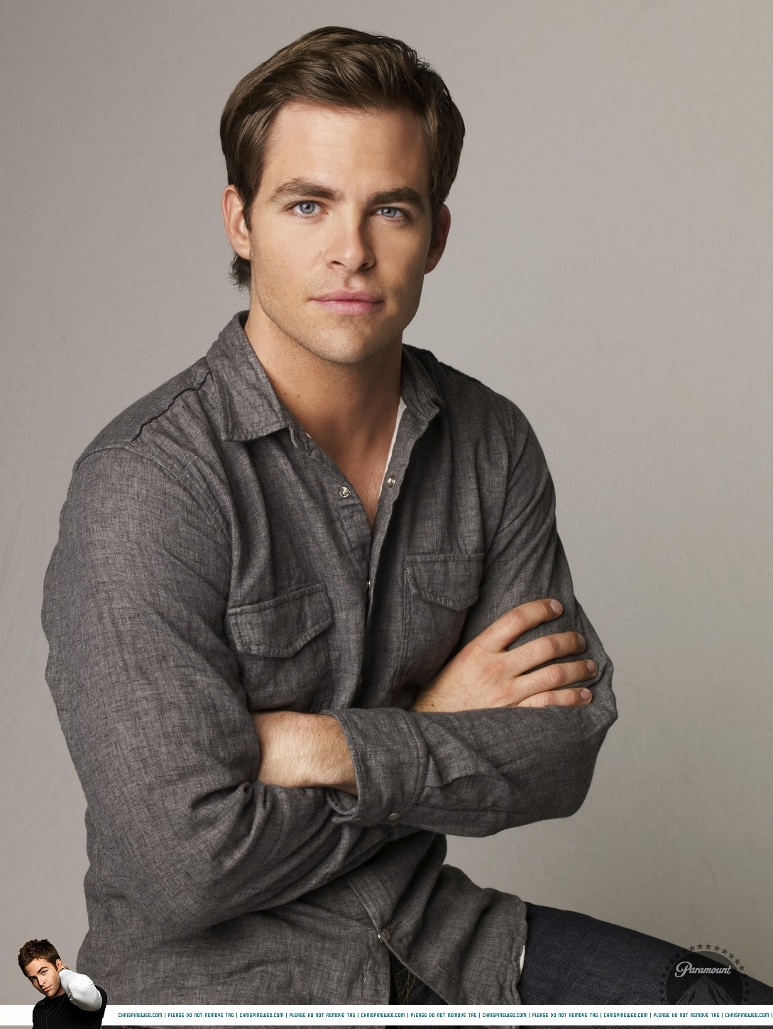 Chris Pine On The Set Of One Day She Ll Darken: The Growing Tree: Man Candy Monday #11: Chris Pine