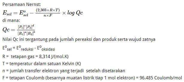 Soal Elektrokimia OSP Kimia 2017