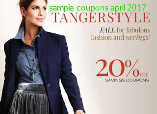Tanger Outlet coupons april 2017