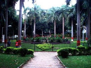 Tourist Place At Pune Bund Garden