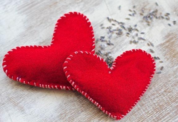 el yapımı kalp el ısıtıcı